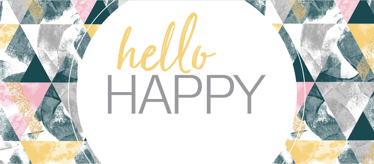 Hello Happy. Get Happy.